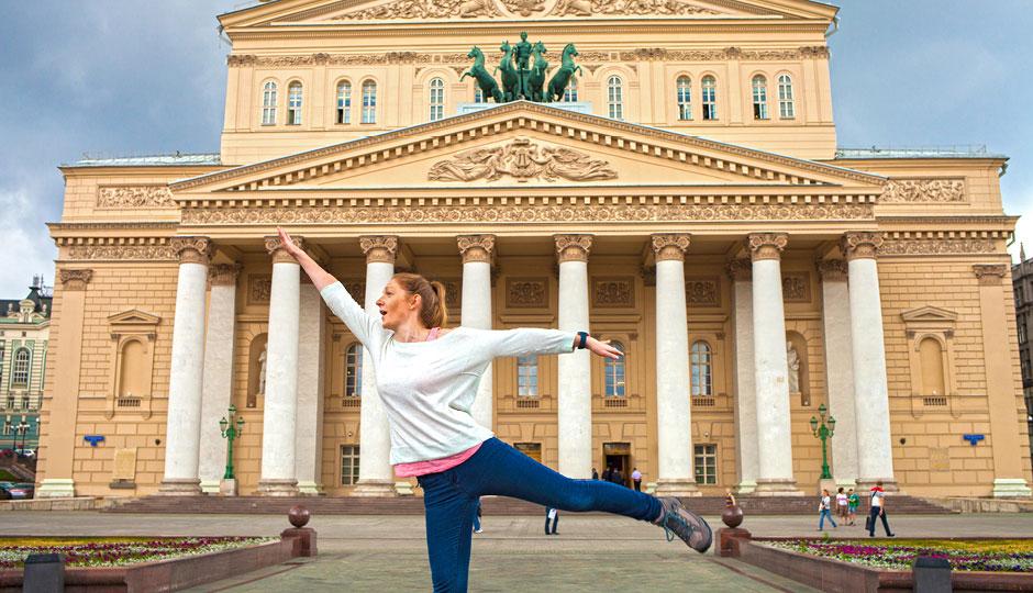 Ballerina at the Bolshoi